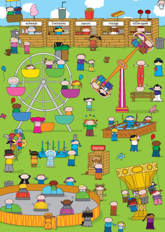 Kinderkaarten - Kinderkaart Kermis