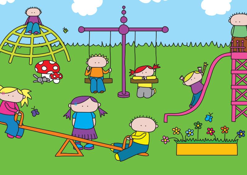 Kinderkaarten - Kinderkaart Speeltuin