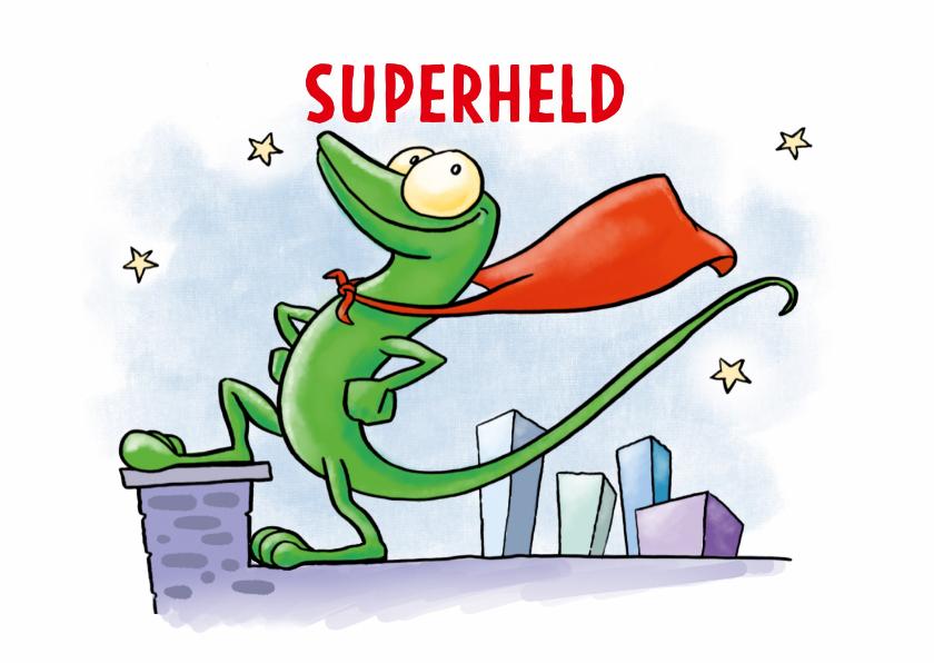 Kinderkaarten - Kinderkaart Superheld