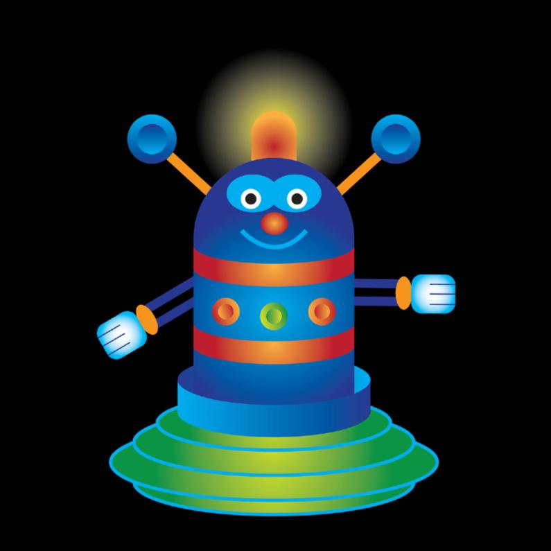 Kinderkaarten - Robotje