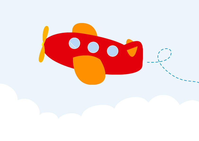 Vliegtuig, symbool Clipart | k37170317 | Fotosearch