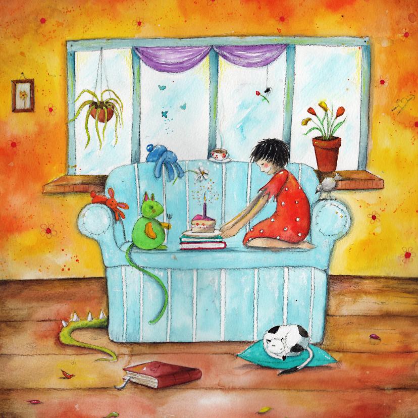 Kinderkaarten - Zomaar - een feestje voor jou