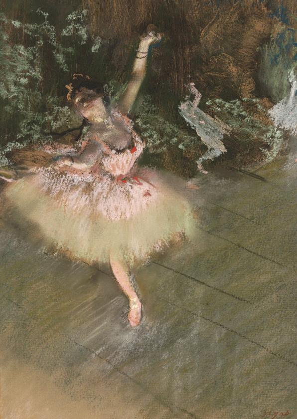 Kunstkaarten - Edgar Degas. De ster