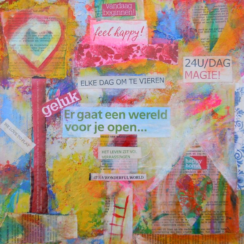 Kunstkaarten - Feel Happy