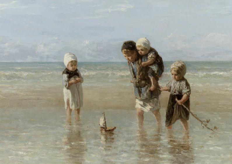 Kunstkaarten - Kinderen der zee