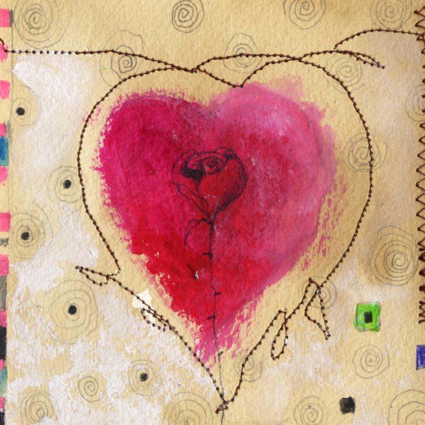 Kunstkaarten - Kunstkaart a heart for everyone 1