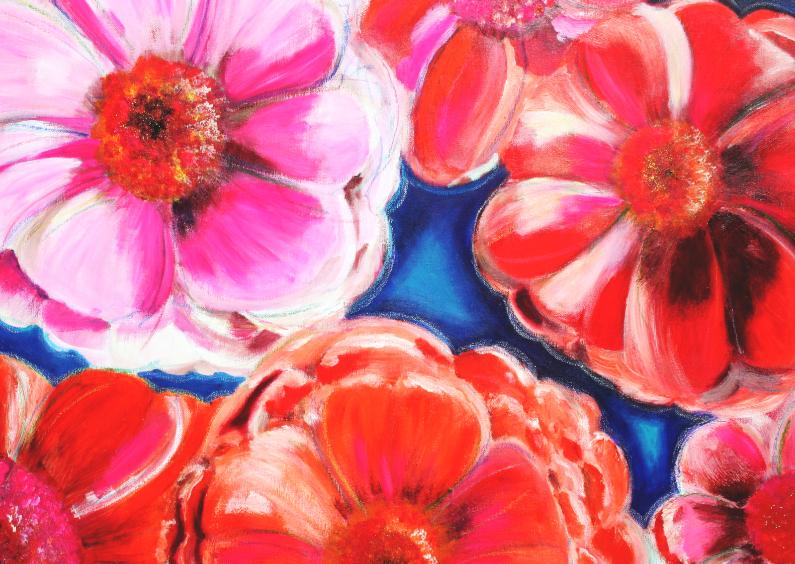 Kunstkaarten - Kunstkaart Bloemenrijk PA