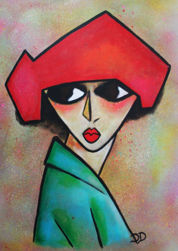 Kunstkaarten - Kunstkaart Corly