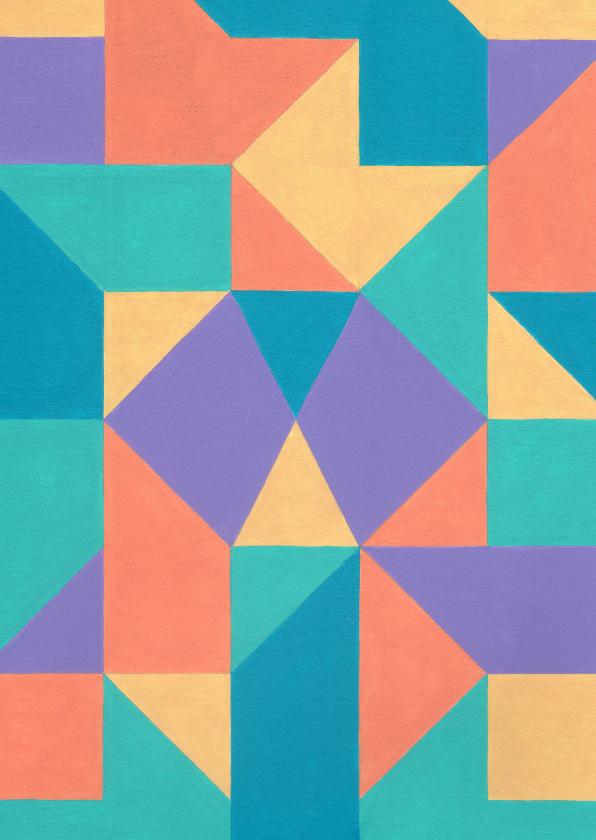 Kunstkaarten - Kunstkaart - Geometrische abstractie | 1
