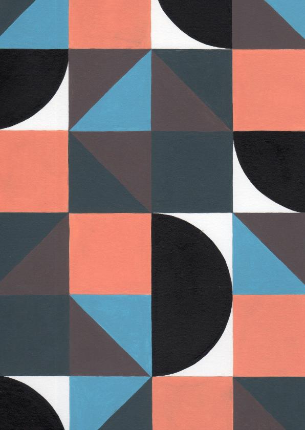 Kunstkaarten - Kunstkaart - Geometrische abstractie | 2