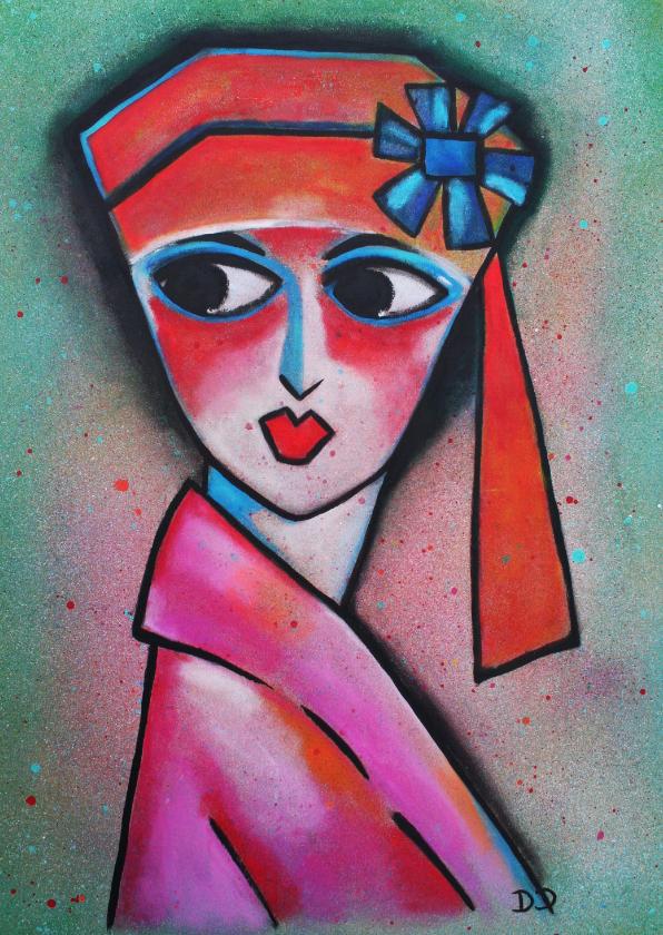 Kunstkaarten - Kunstkaart Margot