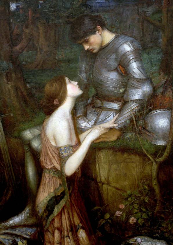 Kunstkaarten - Kunstkaart van John Waterhouse. Lamia