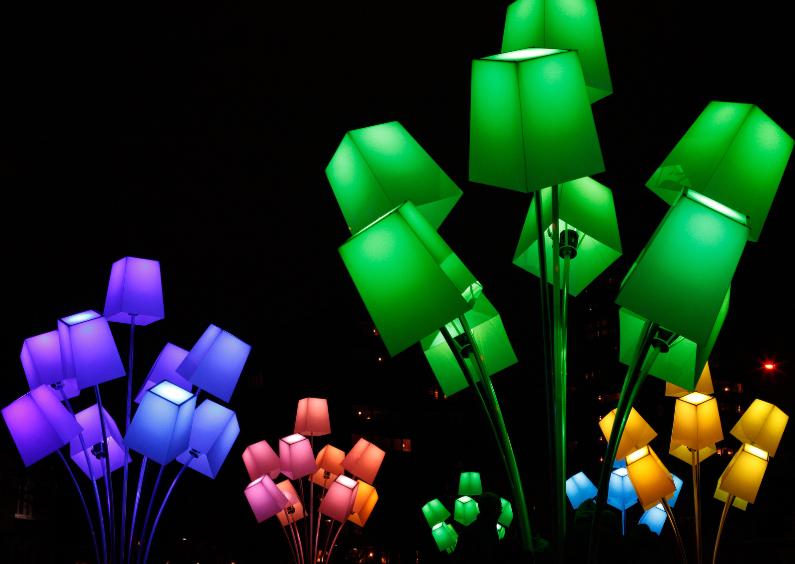 Kunstkaarten - Lichtfestival Glow Eindhoven 1