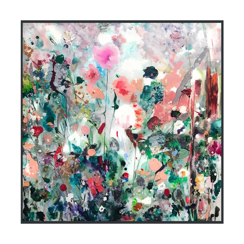 Kunstkaarten - Schilderkunst Martine de Ruiter paletstukken