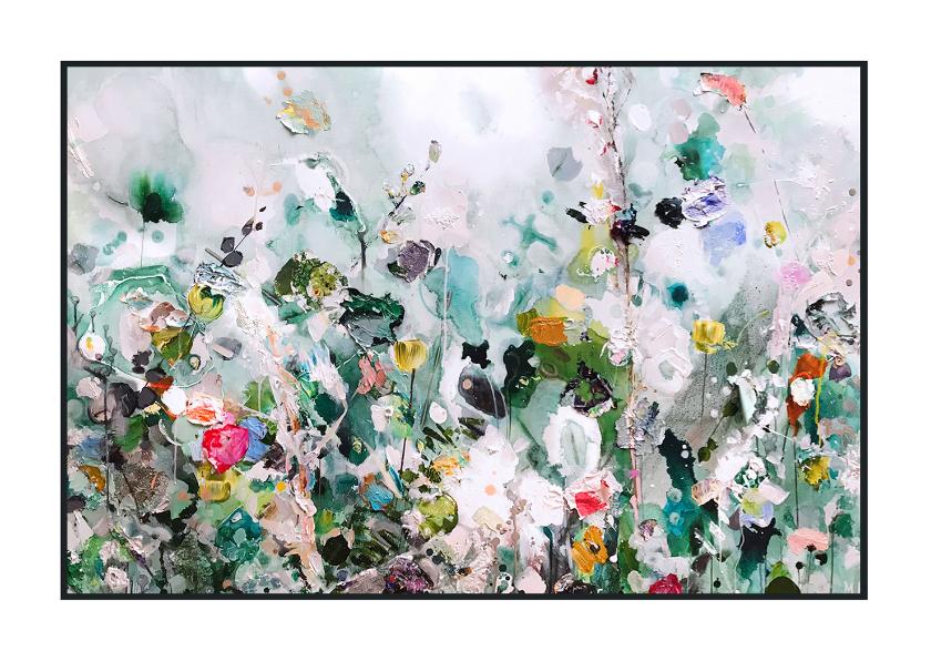 Kunstkaarten - Schilderkunst paletstukken Martine de Ruiter