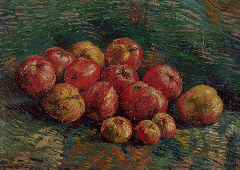 Kunstkaarten - Vincent van Gogh. Appels