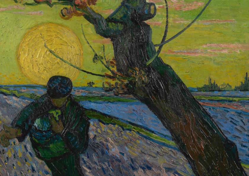 Kunstkaarten - Vincent van Gogh. De zaaier