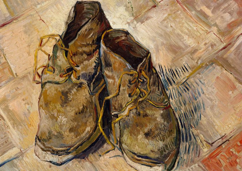Kunstkaarten - Vincent van Gogh. Schoenen