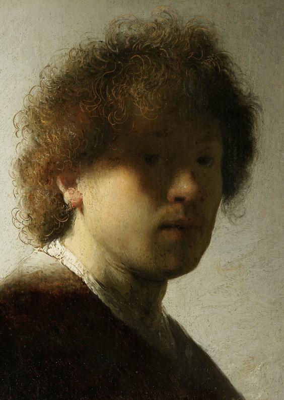 Kunstkaarten - Zelfportret Rembrandt
