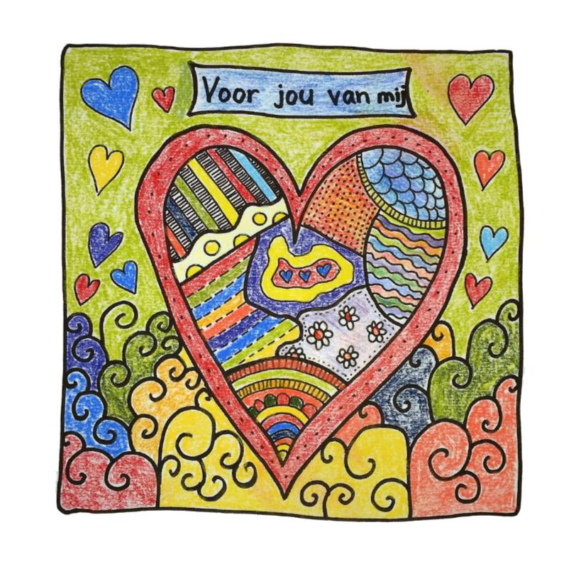 Liefde kaarten - Een kaart van mij voor jou