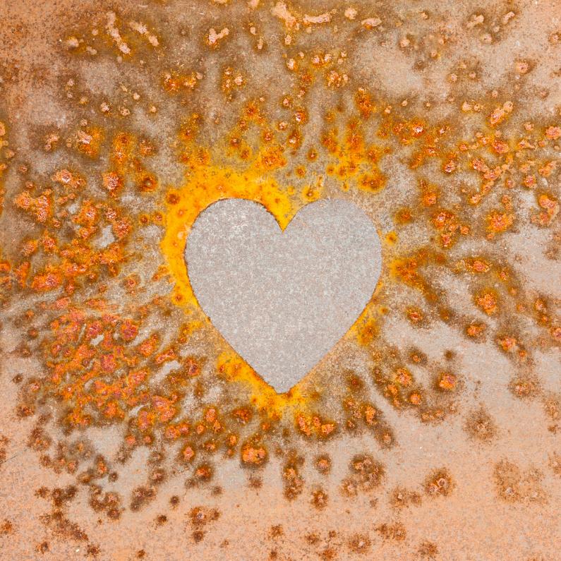 Liefde kaarten - Hartje: oude liefde roest niet