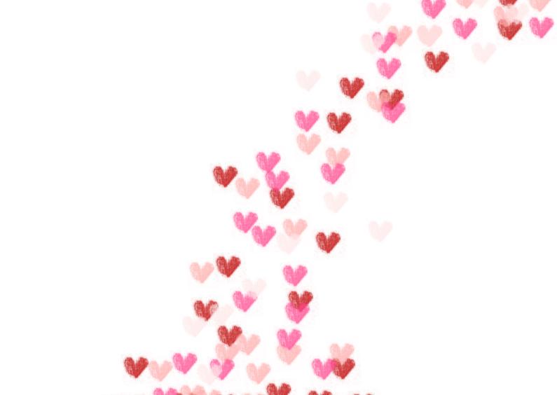 Liefde kaarten - Het regent liefde