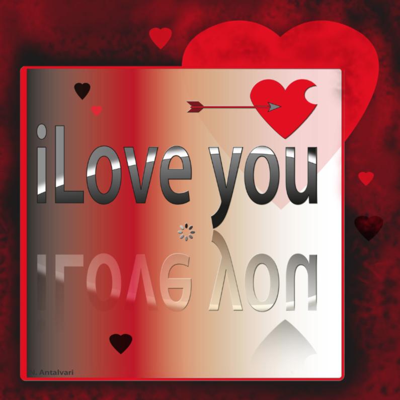 Liefde kaarten - iLove you