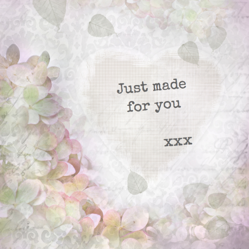 Liefde kaarten - Just made for you -1-