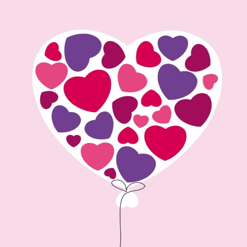 Liefde kaarten - Liefde hart 5