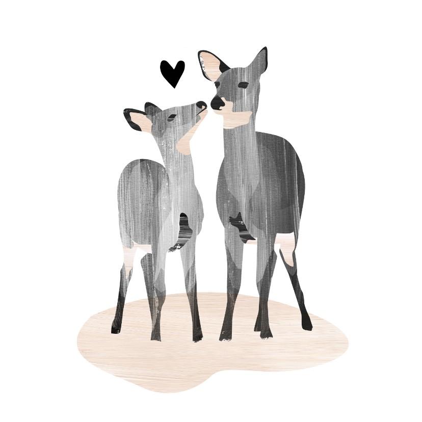 Liefde kaarten - LIefde Hertjes & Hartje