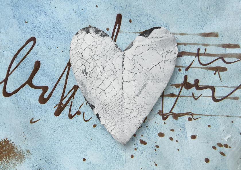 Liefde kaarten - Liefde Kaart Burst Of Love