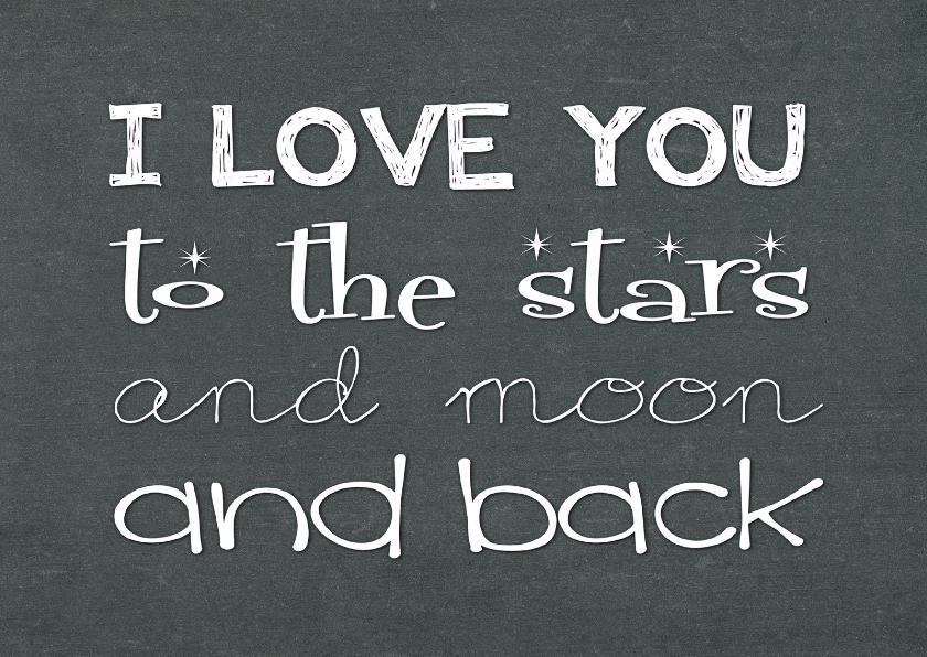 Liefde Kaart I Love You 1 Liefde Kaarten Kaartje2go