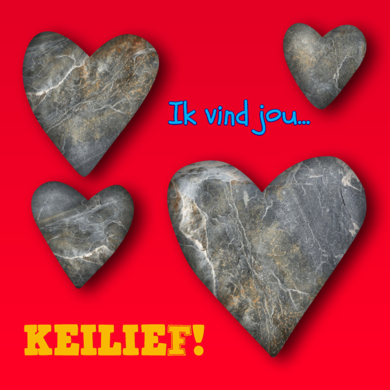 Liefde kaarten - Liefde kaart Keilief - AZ