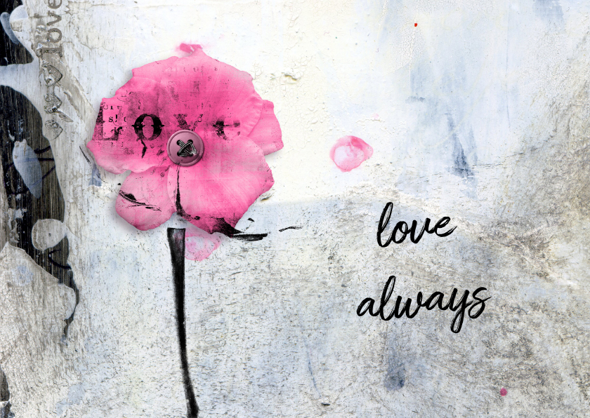 Liefde kaarten - Liefde kaart love always