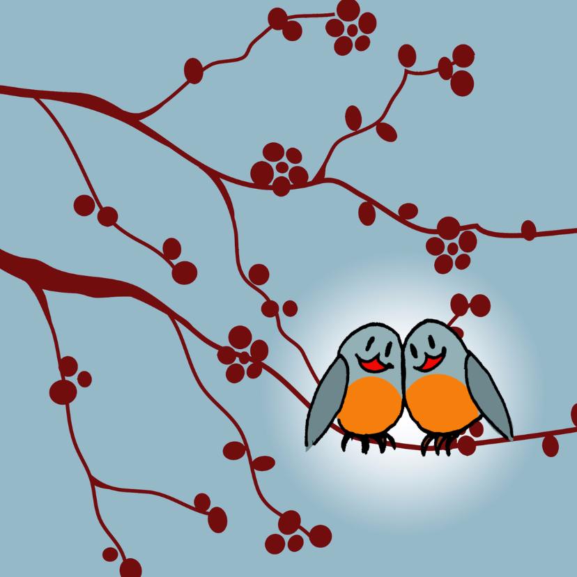 Liefde kaarten - Liefde kaarten - Love birds