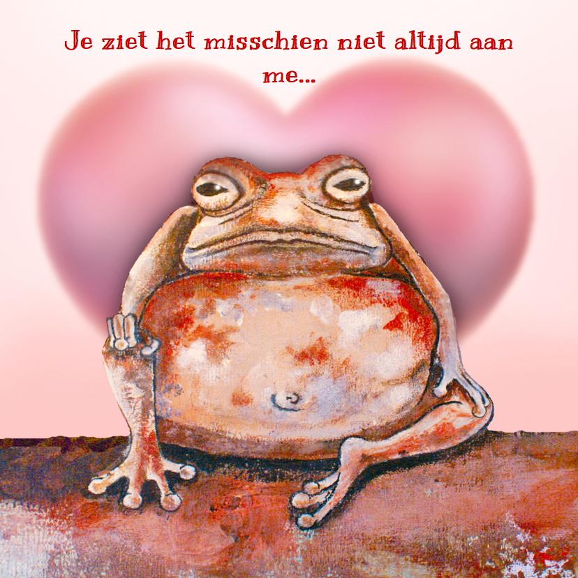 Liefde kaarten - Liefde met hart en Brompad - LH