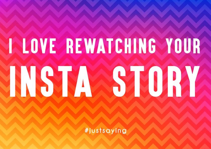 Liefde kaarten - Rewatching Insta Story