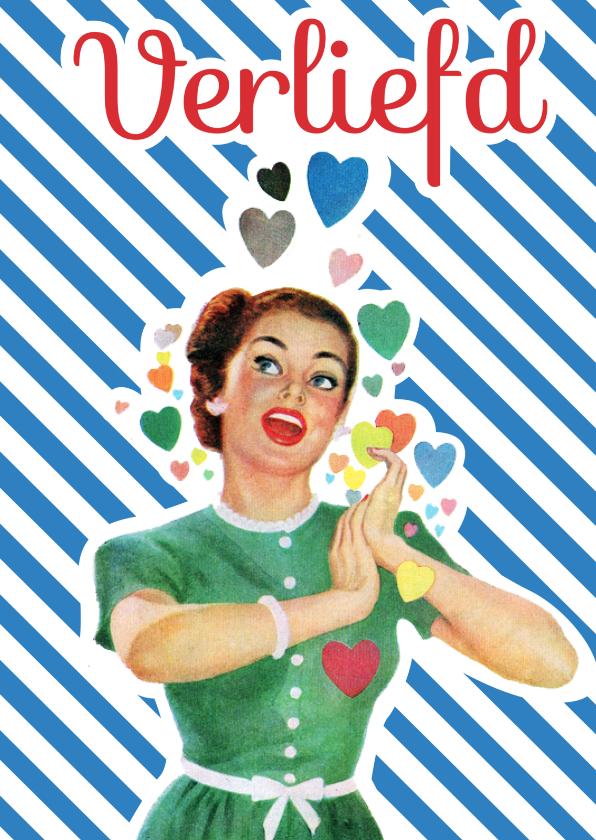 Liefde kaarten - Vintage Verliefd