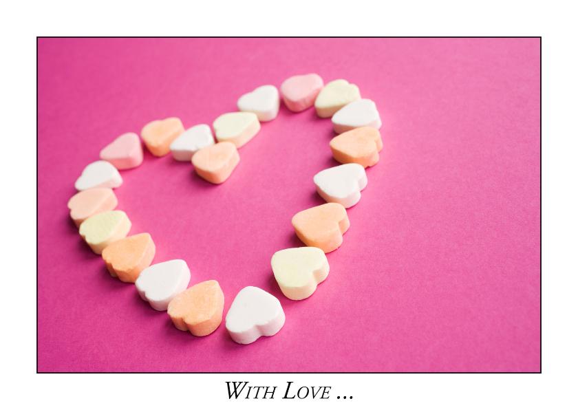 Liefde kaarten - With Love V