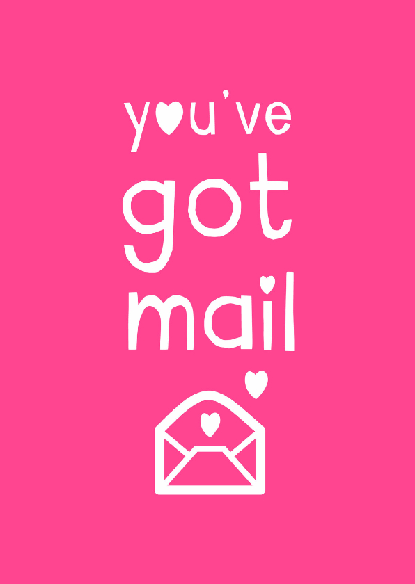 Liefde kaarten - You've got mail