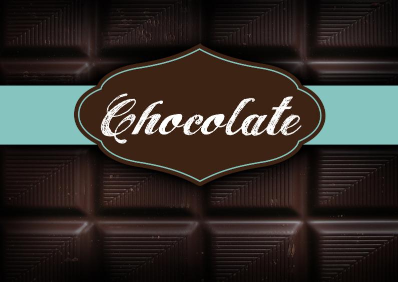Moederdag kaarten - Chocoladereep kaart moederdag