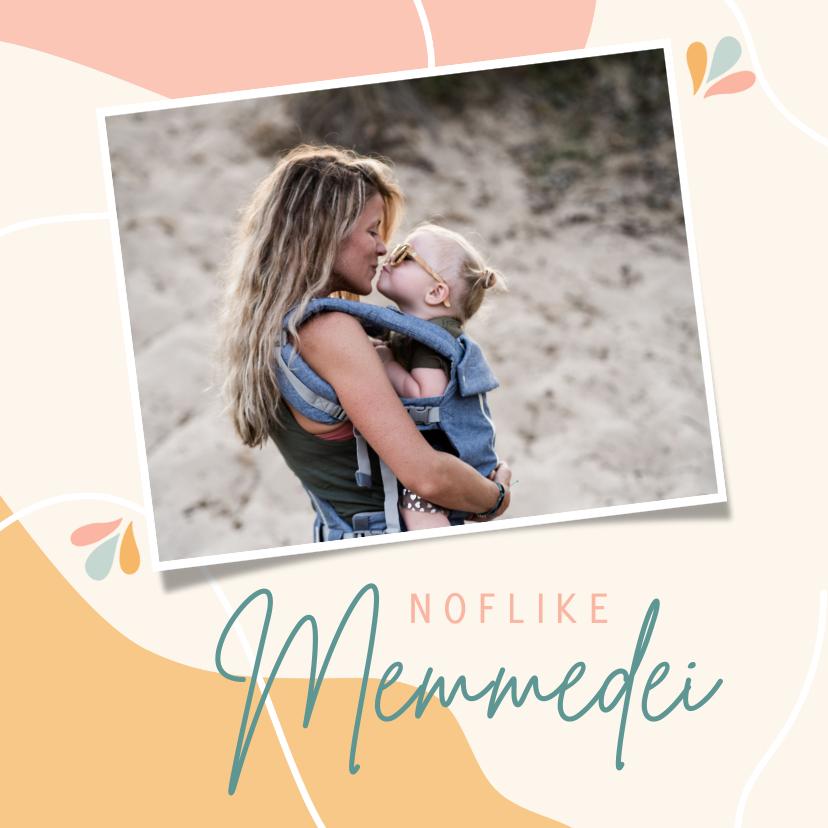 Moederdag kaarten - Friese moederdagkaart 'noflike memmedei'