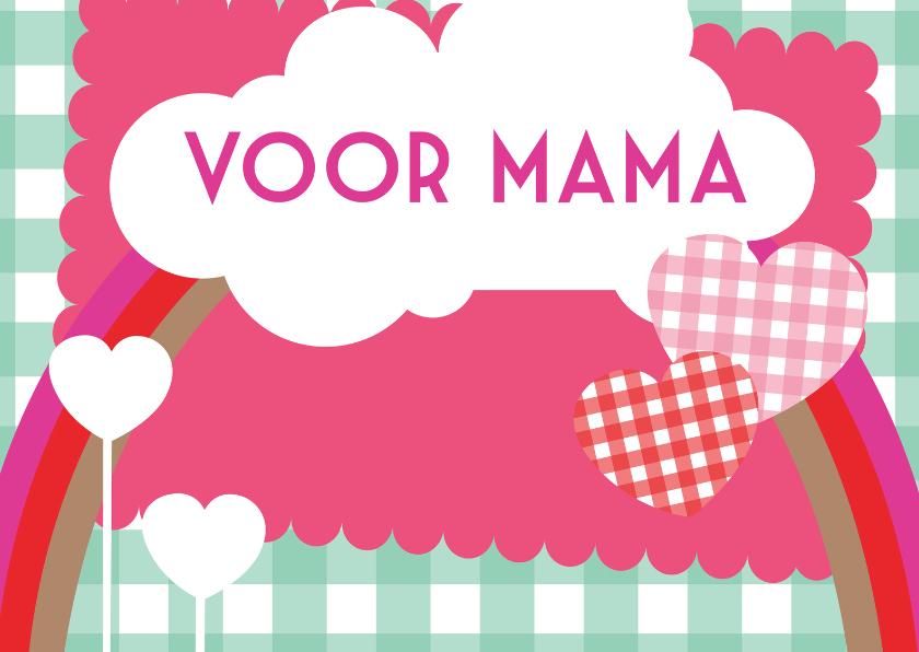 Moederdag kaarten - Happy Card voor mama