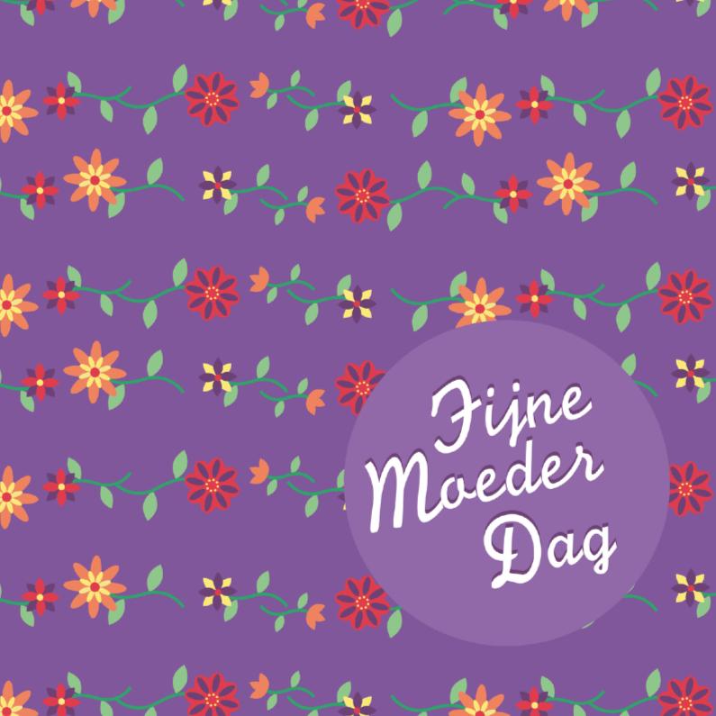 Moederdag kaarten - Moederdag bloem 6