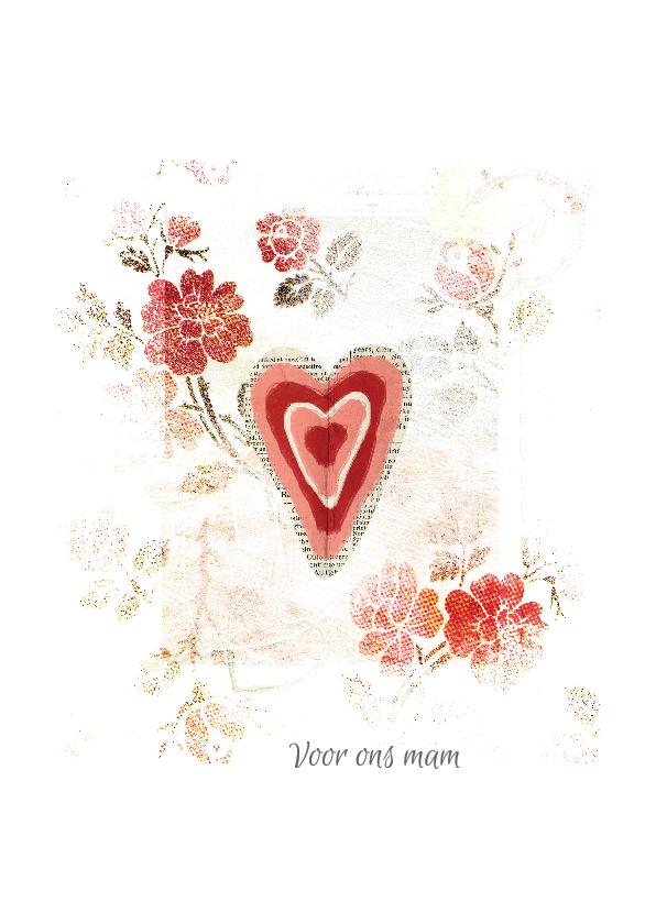 Moederdag kaarten - Moederdag kaart voor ons mam