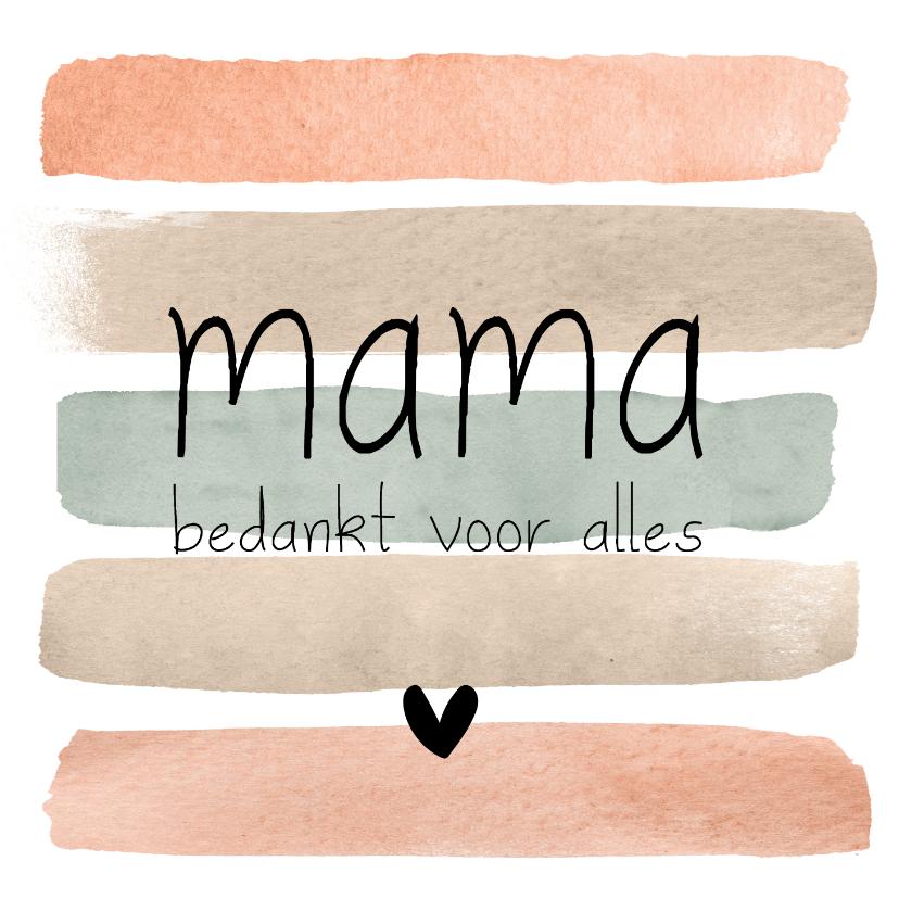 Moederdag kaarten - Moederdag | Lieve kaart voor mama