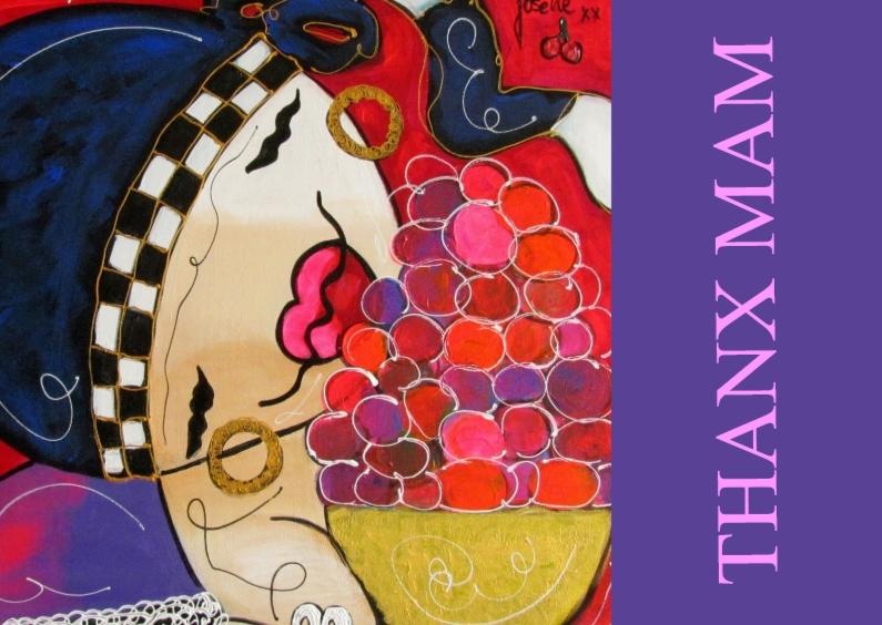 Moederdag kaarten - Moederdag - Thanx Mam