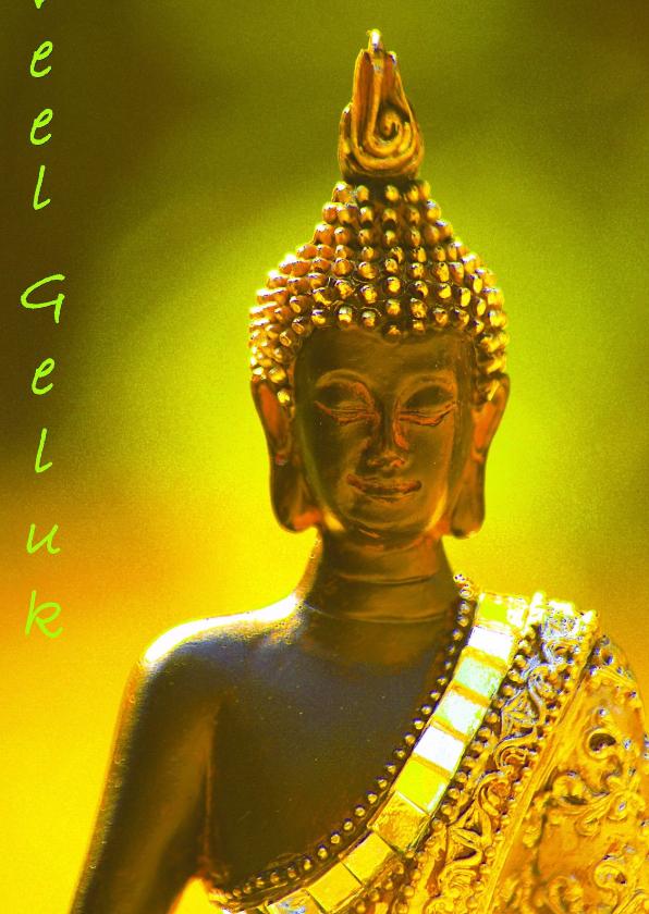 Nieuwjaarskaarten - Boeddha geluk