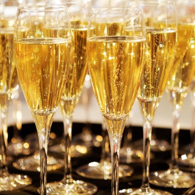 Nieuwjaarskaarten - Champagne 3 - OTTI