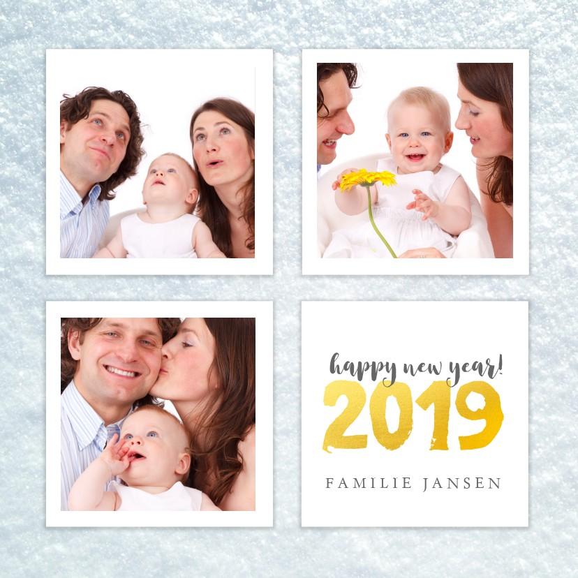 Nieuwjaarskaarten - Kerstkaart collage 2019